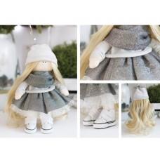 Интерьерная кукла «Майли», набор для шитья. Высота 23 см.
